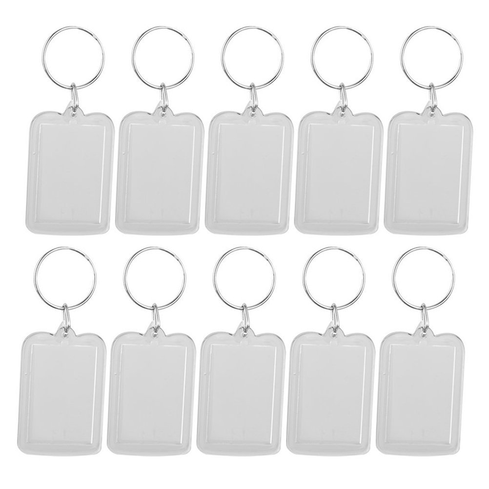 Cheap acryl photo frame keychain find acryl photo frame keychain winomo acrylic photo frame keychain 533cm 10pcs jeuxipadfo Choice Image