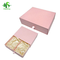 Alibaba gold supplier baby shoe box packaging with customised size