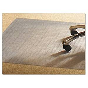 """Mammoth Office Products - Pvc Chair Mat For Medium Pile Carpet 46 X 60 No Lip Clear """"Product Category: Office Furniture/Chair Accessories"""""""