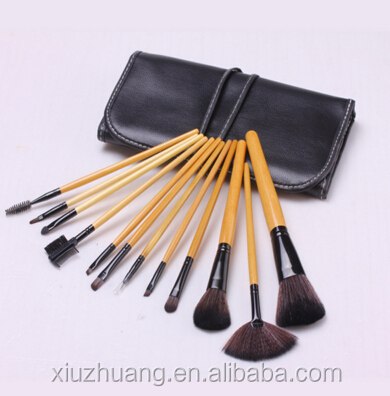 12pcs Brush/custom Cosmetic Bag Make Up Brush Set