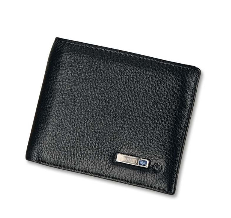 Hot selling with USB tracking Safety Alarm bluetooth men leather smart <strong>wallet</strong>