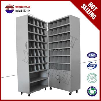 Metal Pharmacy Cabinet / Steel Pharmacy Furniture Design For Sale