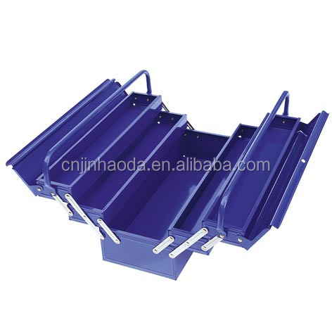 powder coating tool box, steel portable useful tool box iron steel material high quality low price