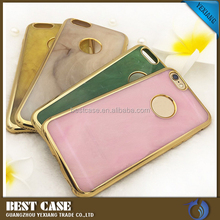 Mobile Accessories Jade Pattern Electroplated Bumper Crystal TPU Back Case For Ipad Mini