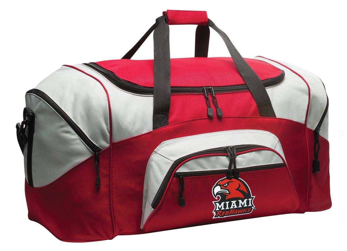 Miami University Duffle Bag Miami RedHawks Gym Bags Suitcase Duffel