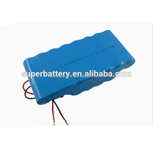 A variety of capacities, various combinations of batteries OEM 4S3P 14.8v 6600mAh 18650 li ion rechargeable battery pack