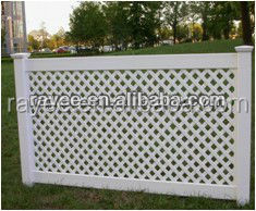 cheap models of gates and PVC fence/ pvc fence ranch style
