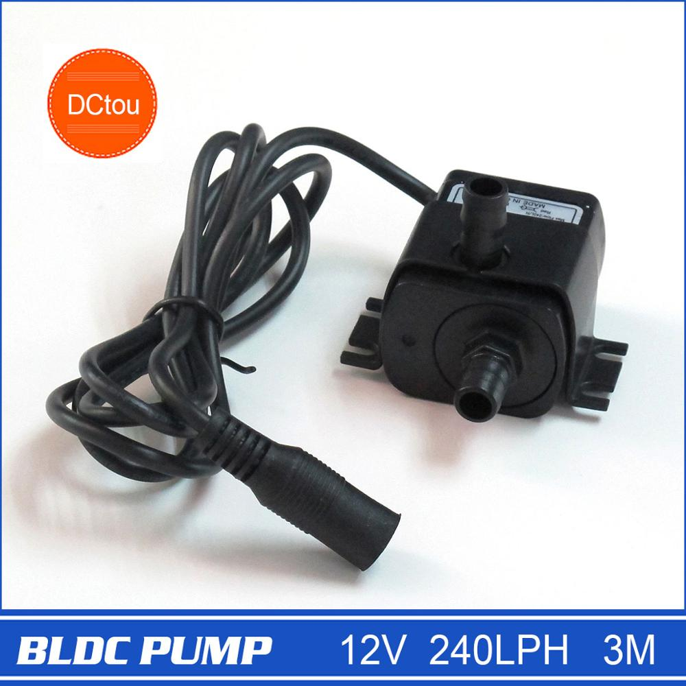 New Water <strong>Pump</strong> 12v Small Submersible <strong>Pump</strong> upgrade 240LPH 3M 4.2W Portable long lifespan 30000 hours Dropshipping & Freeshipping