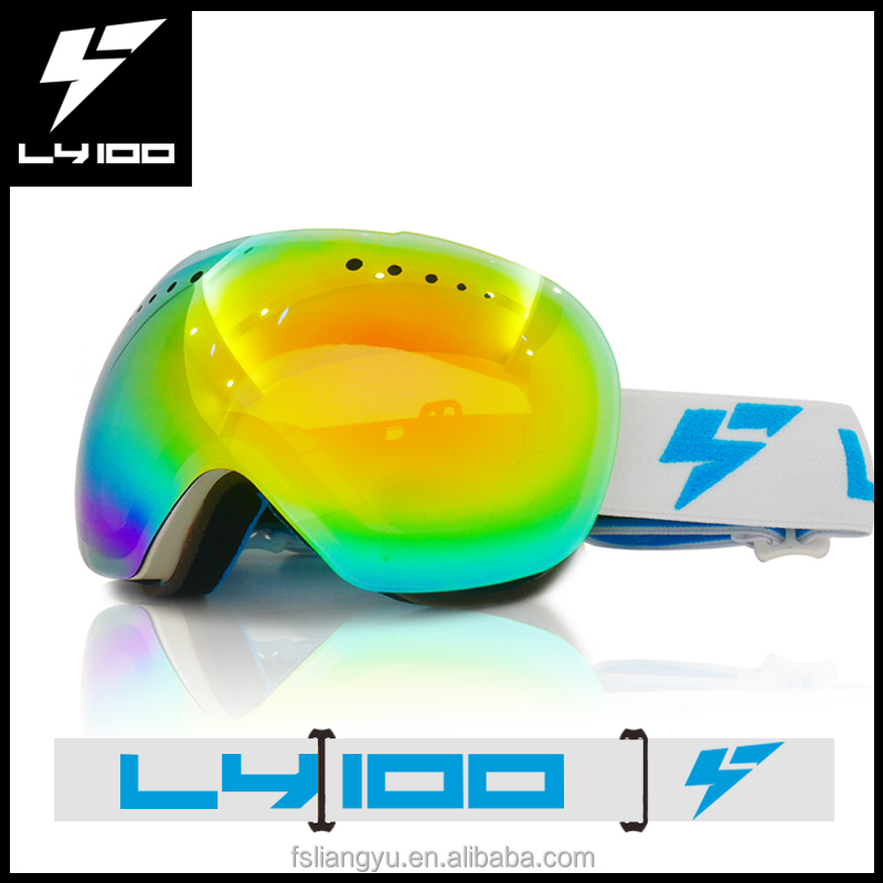 New Arrival Fashionable Frameless Snow Snowboard Goggles