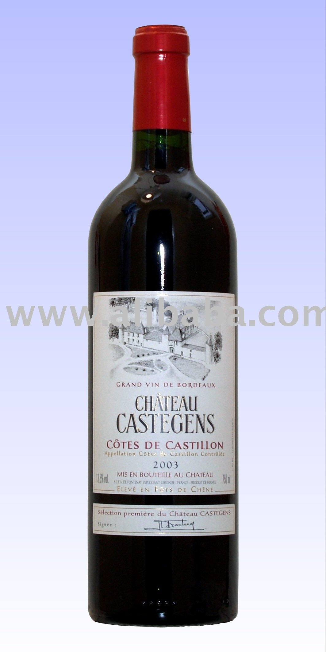 Chateau Castegens-Red Wine From Bordeaux