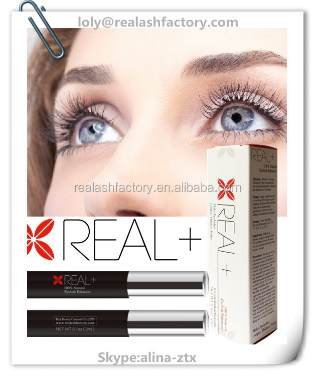 Most popular recommended by doctors Real plus eyelash enhancer 100 percent guaranteed by supplier