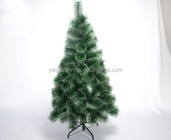 christmas decoration pet pine needle snowing christmas tree