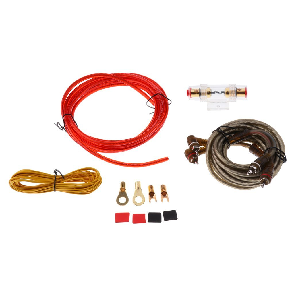Cheap Audio Wire Cable Find Deals On Line At Speaker Wiring Get Quotations Magideal Car 8ga Amplifier Subwoofer Installation Kit
