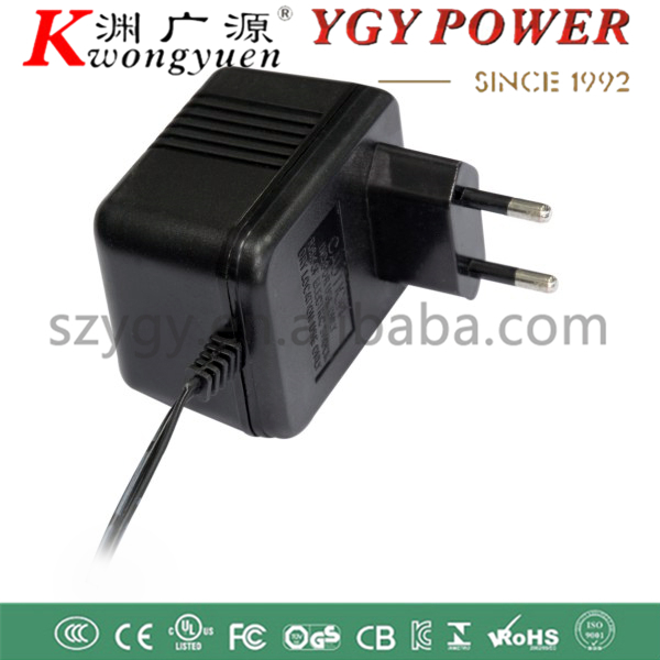 AC to AC 12V300mA linear power adapter 5W