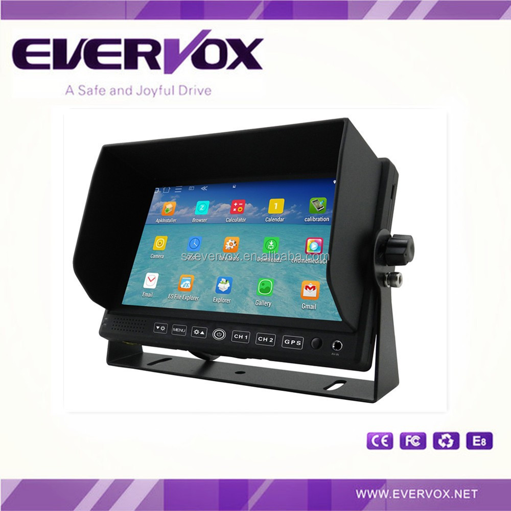 7 inch brand new android monitor built-in navigation function
