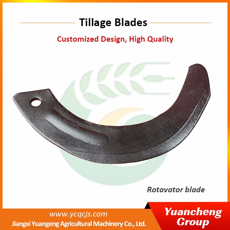 Customized Japan Rotavator Tiller Blade