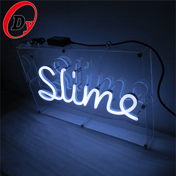professional led commercial advertising signs factory custom made led neon letters logo neon sign