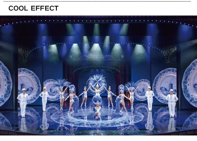 Fase di interattiva digitale led dj pista da ballo pannello per la celebrazione eventi