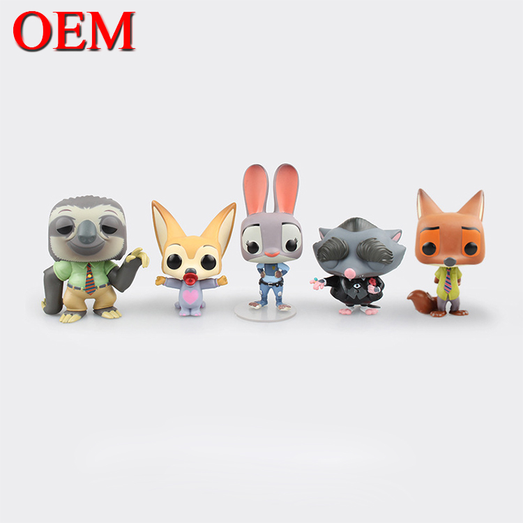 3D Cute Mini Vinyl Cartoon Figure for Crazy Animal