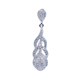 high quality jewellery vogue lady 925 cz pendant