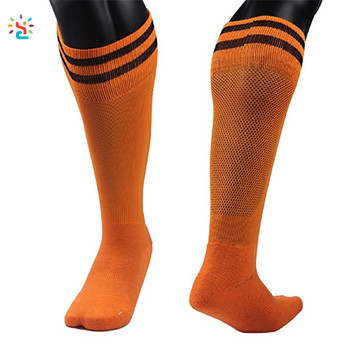 d1885e6f6 New Apparel kids adult athletic socks custom unisex knee high two stripe  sport soccer baseball games