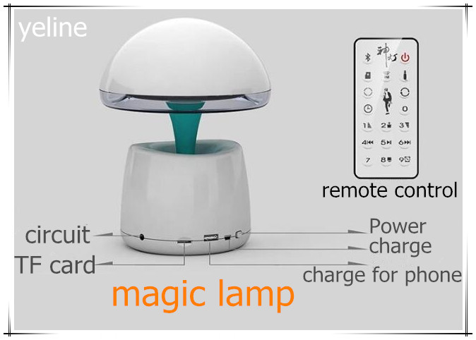 Baby bedtime story A LA magic lamp night light speaker
