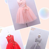 Wholesale fashion Children Frocks Designs Tulle Princess Dresses Girl Tutu Dress For 2-8 Year Old