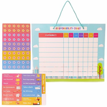 Hot Ing 17 Cs 60 Magnetic Stars Good Behavior Chart Responsibility For Wall