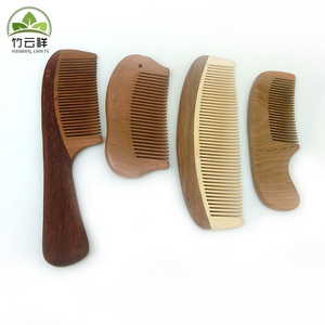 Wooden comb which helps blood circulation
