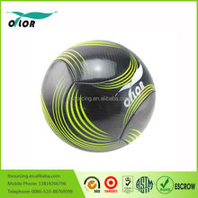 High quality official size and weight colorful machine stitched street soccer ball