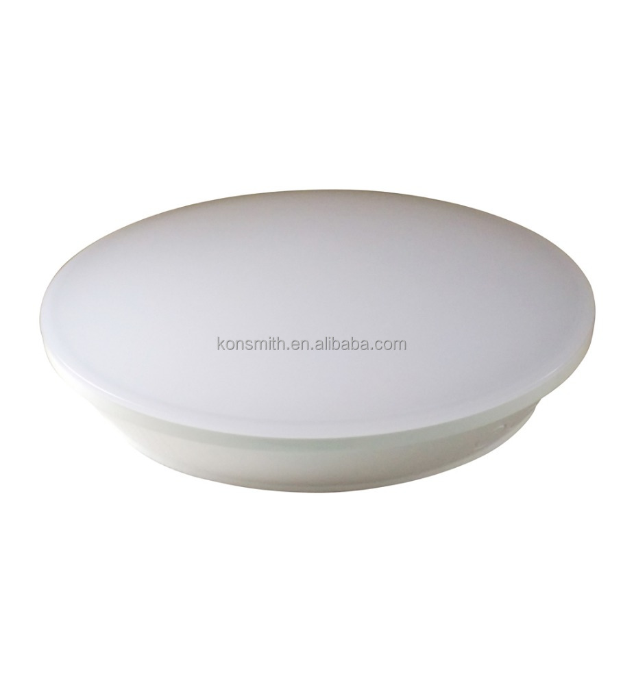 15W LED Ceiling plafond Master light with radar sensor can control the Slave lights 2-Step dim driver Outdoor IP44 PC