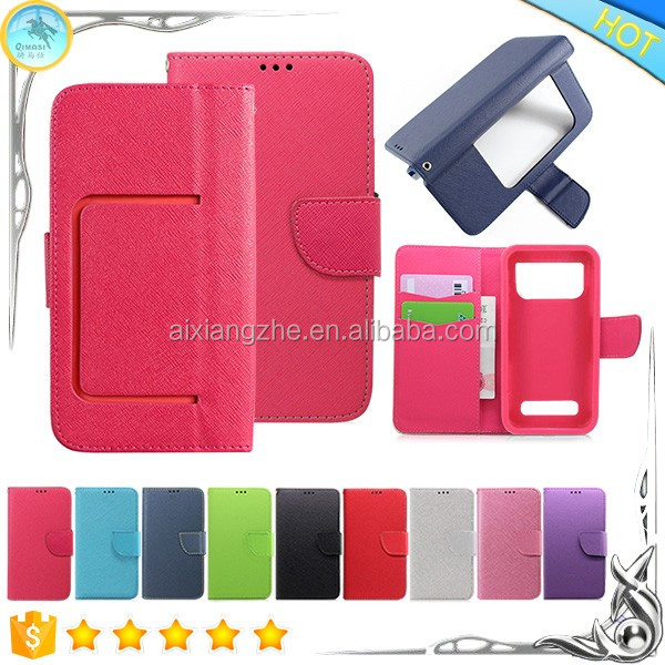 Fancy Leather Carrying Wallet Case for zte grand x2 ,Flip Leather for zte grand x plus z826 Phone Case