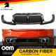 Carbon Fiber Rear Lip Diffuser For BMW F10 5 Series M5 Bumper 2012-2015