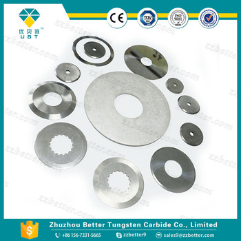 hard alloy Textile Blades cutting blades