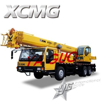 China Xcmg 25 Tons Factory Mobile Crane 25 Ton In Stock