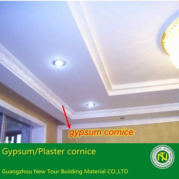 New Building Material Gypsum Plaster Cornice Roof Ceiling