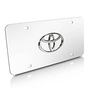 Auto Gold TOYCC Toyota Logo Chr//Chr PLT