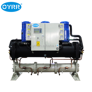 OYRR 40kw Multiple water cooled scroll type water chiller for cooling injection machine