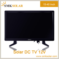 Solar DC 12V TV 60 Models available .high definition 15 17 19 22 24 26 32 40 inch Portable LCD cheap solar TV 12V