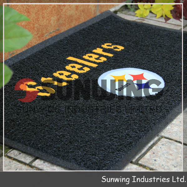 SUWNING shoe cleaning custom door mat foot mat