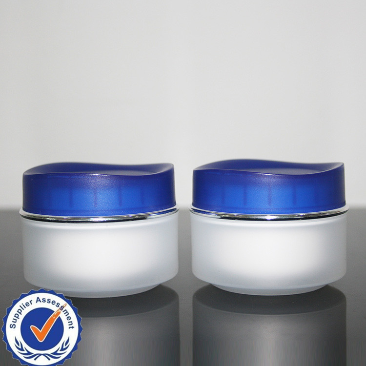 30g 50g glass eye gel cream jars plastic pet jar plastics