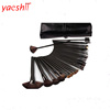 Alibaba hot sale pro cosmetic beauty tool kit 32pcs makeup brush with bag set