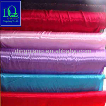Printed fabric polyester fabric in changxing dingqiang textile co - Polyester Raso Tela Satin Fabric Buy Satin Fabric Raso