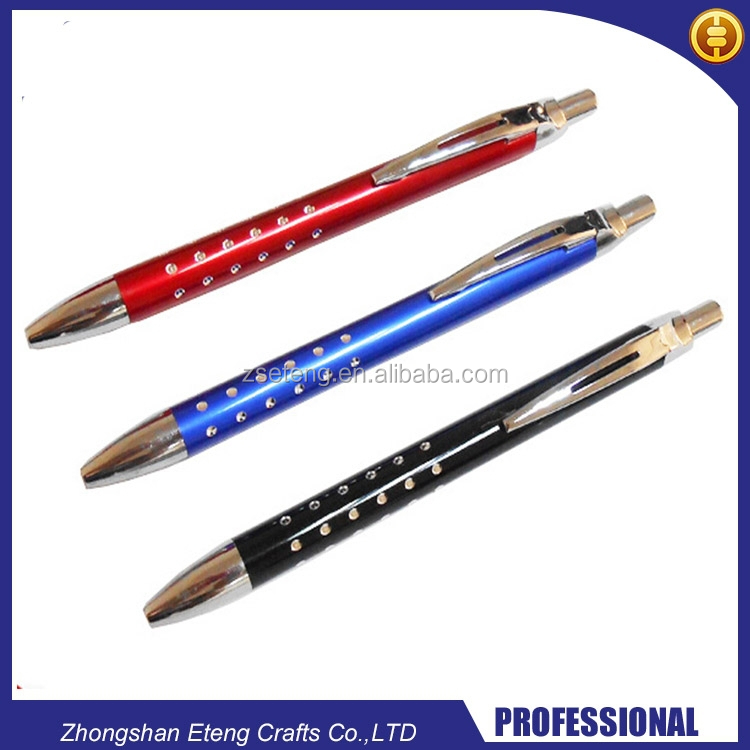 Customized promotional ballpoint pen with your branded name,logo,website,phone number