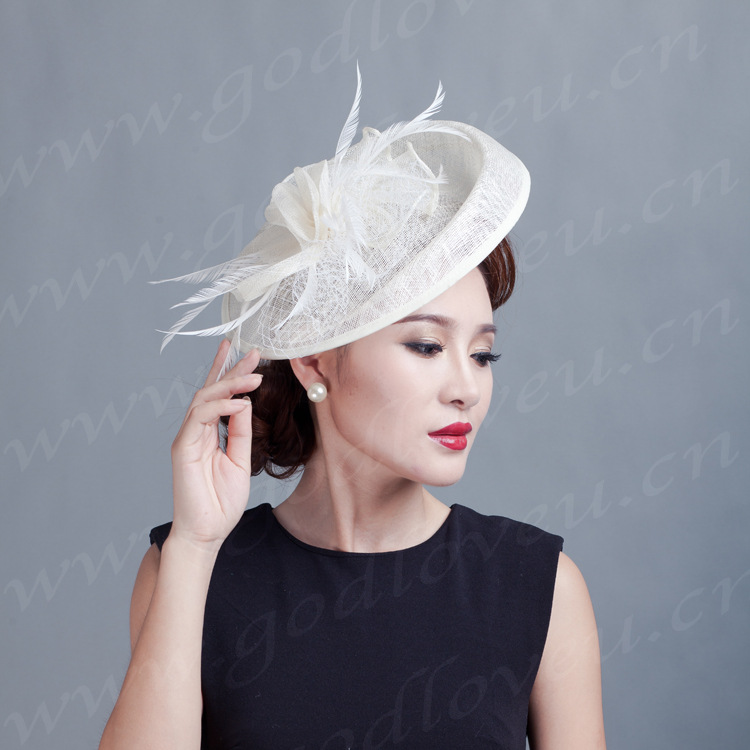 Incredible Popular Large Fascinators With Flowers And Feathers Buy Cheap Short Hairstyles For Black Women Fulllsitofus