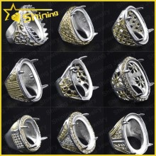 2015 new item wholesale Indonesia quartz titanium rings blanks