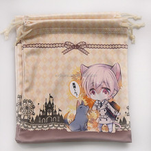 New design customizable small velvet pouches for jewelry fashionable