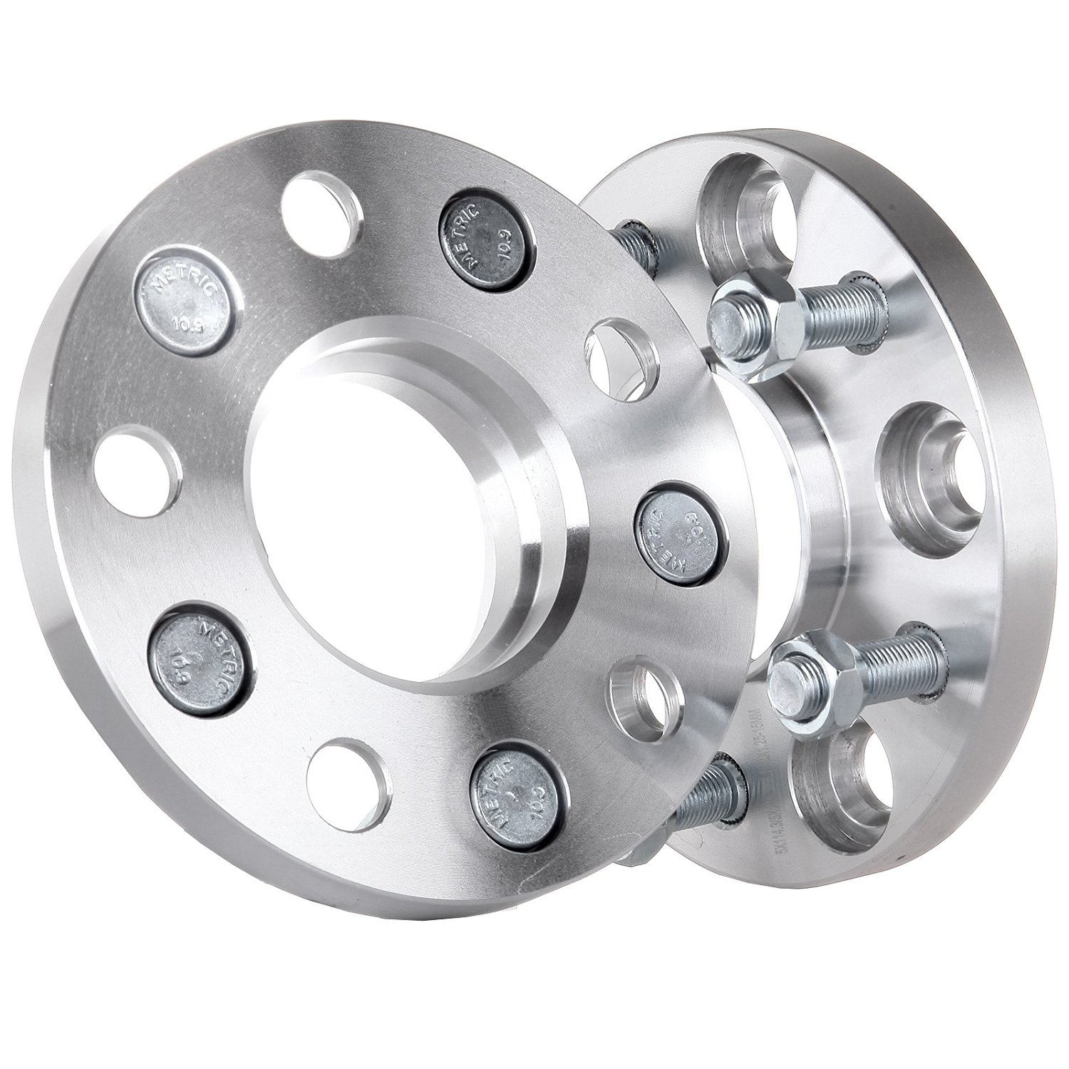 Scitoo 2X HUBCENTRIC WHEEL SPACERS ADAPTERS ¦ 5x114.3 ¦ 12X1.25 ¦ 66.1 CB ¦ 15MM THICK For Nissan 350Z Maxima Infiniti M35 FX50 EX37