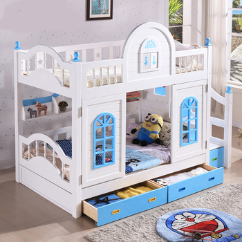 Wooden Bunk Bed Ladder Twin Beds