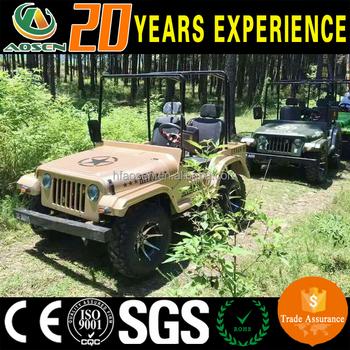 Goedkope 4 Wiel Batterij Aangedreven Jeep Golfkar Buy Jeep Golfkar